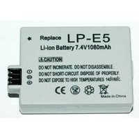 Replacewment for LP-E5 battery