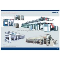 Rotogravure Printing Machines(150-250mpm)/Gravure Printing Machine/Rotogravure Press