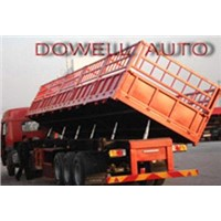 Self-Discharge Semi Trailer