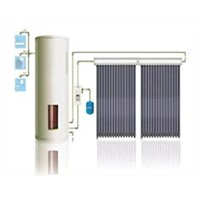 Separate Pressure Heat-pipe Solar Water Heater System (pressured)