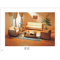 Offer Hot Poly wicker Rattan Sofa set furniture