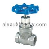 Stainless Steel Gate Valve Glass 200