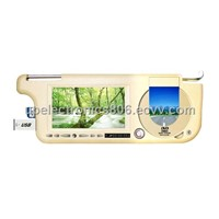 Sunvisor car dvd player and monitor(SV8501DVD)