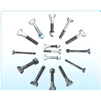 T Bolt, T Head Bolt, Square Head Bolt