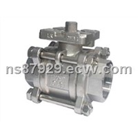 Three Pieces Platform Ball Valve