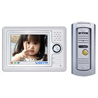 "Four wires handfree color video doorphone,5"" TFT LCD ETO-258-5"