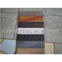 Imitation stone ceramic floor tile