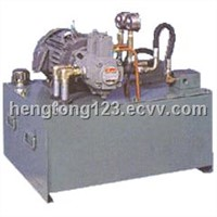 hydraulic pump station
