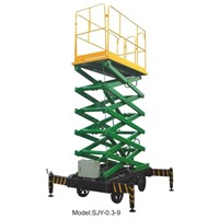 mobile high-raised lift table