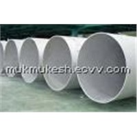 Stainless Steel Pipe Welded Large Diameter Austenitic Steel Pipe ASTM A409 TP 304 / 304L / 316 / 316