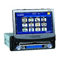 "7"" Indash DVD player with Bluetooth"