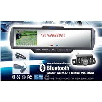 Bluetooth Hands Free Car Kit with Parking Camera(rear view mirror)