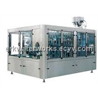 Bottle water rinsing/filling/capping machine