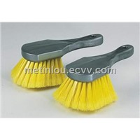Car Washing Brush with Plastic Base and PP Fiber