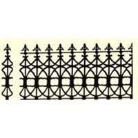 wrought iron Fence part