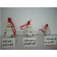 Ceramic Christmas snowman bells, Christmas Gifts and Decorations