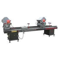 Double-Head Cutting Saws for Aluminum & Plastic Profile