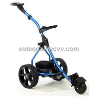 Electric Aluminum Golf Caddy, Buggy, Trolley