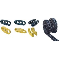 Excavator parts and bulldozer parts-Track chain link