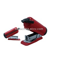 Fire extinguisher stapler