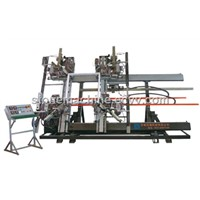 Four-corner Vertical Welding Machine for Plastic Door & Window