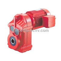 HF Series Parallel Shaft helical geared reducer