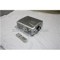 HDTV Projector AV TV SV HDMI Scart USB Card Reader Input