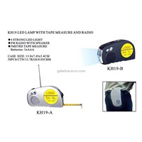 KH19 LED LAMP WITH TAPE MEASURE AND RADIO