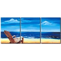 Landscape paintings on canvas002