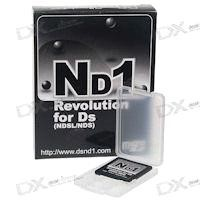 New DS Flashcard on the market - Nd1 Revolution