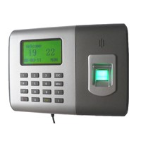 Fingerprint Time and Attendance System with USB Interface and RFID Reader