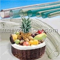 PVC FOOD GRADE SPIRAL STEEL WIRE REIFORCED HOSE