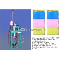 Plastic clean Sponge machine