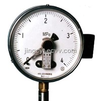 Pressure Gauge with Electrical Contactor