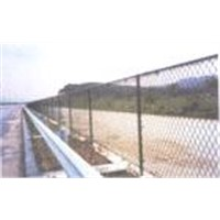 Road protection wire mesh