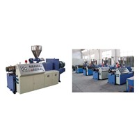 SJSZ Series Conical Twin-screw Extruder