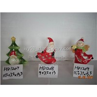 Ceramic candle holder, Christmas gifts and decorations