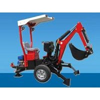 Towable backhoe with itself gasoline engine (XL-BH-002)