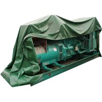 Used/Second-hand Diesel/Heavy Fuel Oil Genset