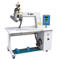 V-3 shoes Hot air seam sealing machine for shoes