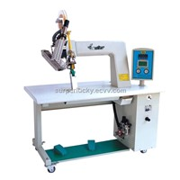 V-6 Hot air seam sealing machine for PU tape, 3 layers tape