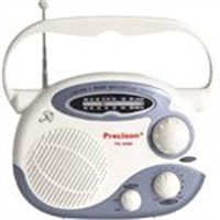 Waterproof bathroom shower radio