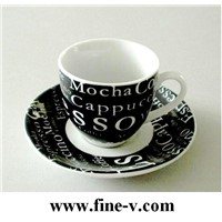 porcelain tableware, coffee cup&saucer, Ceramic mugs ,Promotion Gifts,  ceramic dinnerware