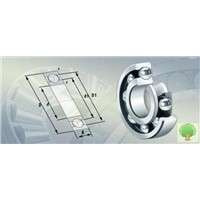 high speed low-noise deep groove centripetal ball bearing