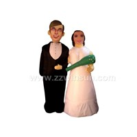 inflatable wedding couple ( model)