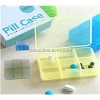 six grid pill box