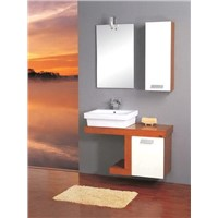 solid wood bathroom vanities sets