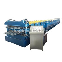 steel wall roll forming machine
