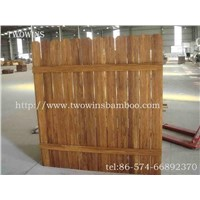 strand woven bamboo fencing