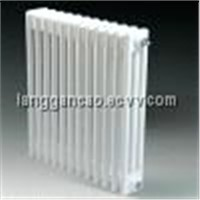 Three Column Towel Radiator in White